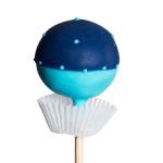Classic Pop, 2 färbiger Pop, hellblau-dunkelblau – EUR 3,30.-