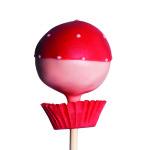Classic Pop, 2 färbiger Pop, rosa-rot – EUR 3,30.-