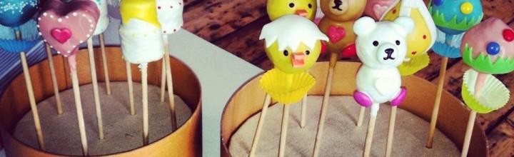 Oster Cake Pops Fotoshooting für die Gusto Jubiläumsausgabe